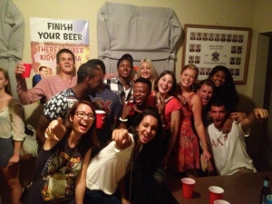 My first frat party