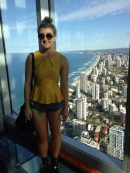 Up the Q1 tower, Gold Coast