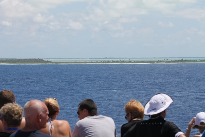 Sailing through the Cocos Islands