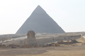 As close as we got to the Sphinx with my full zoom on