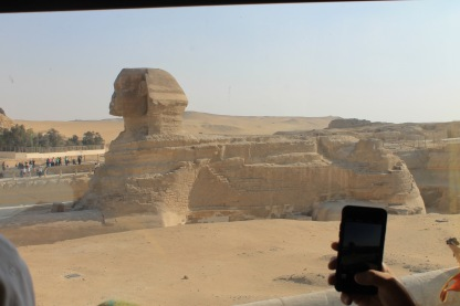 The best view we got of the Sphinx