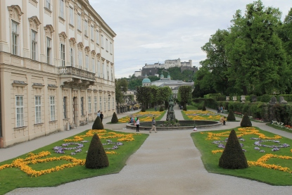 Mirabell Place and Gardens