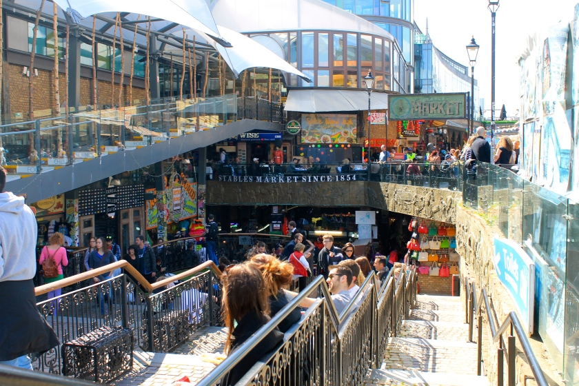 Stables Markets in London, UK. As the name suggests, these markets are housed in old horse stables.