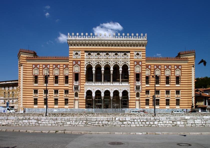 Sarajevo,_knihovna