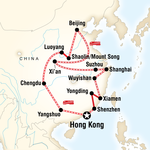 china - g adventures tour