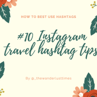 How to best use travel hashtags on Instagram